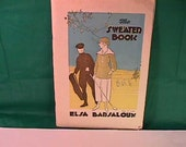 Vtg The Sweater Book by Elsa Barsaloux For The Yarn Shop N.Y. Designs & Patterns for Women in Sports Golf, Tennis, Fighing,Rowing