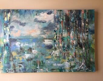 Abstract Landscape - horizon