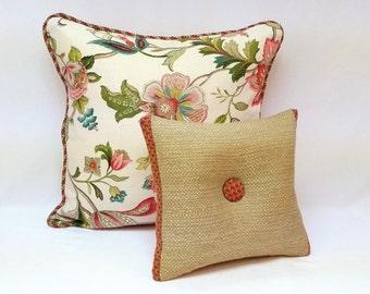 Decorative Throw Pillows, SET of 2