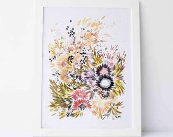 Autumn Garden No.5 - Fine Art Print