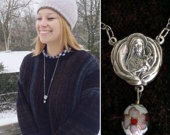 St. Thérèse of the Little Flower necklace