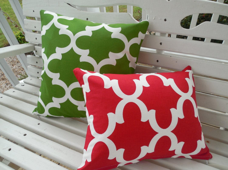 Christmas Outdoor Pillow Cover Holiday Patio Porch Decorative
