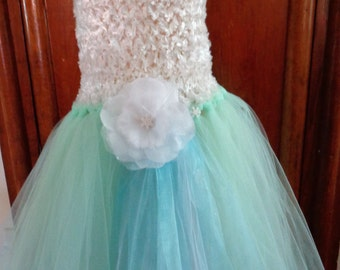 Frozen Inspired Elsa Tutu Gown  Ready to ship in size 4 = 7
