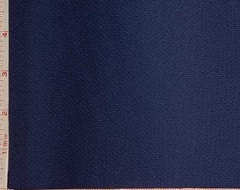 "Navy Mock Mesh Sport Fabric 2 Way Stretch Polyester 6.5 Oz 60-62"""
