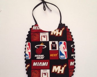 Miami Heat Toddler to Child Bib
