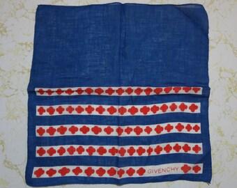 Vintage Givenchy Handkerchief