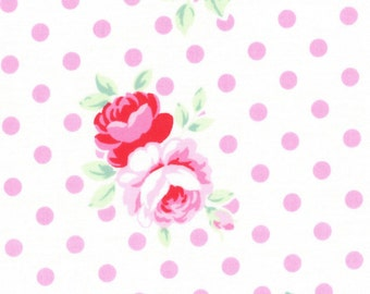 Sweet Carnival Pink Dots 31375-20 by Lecien Cotton Fabric Yardage Flower Sugar Fall '16