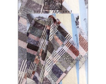 Pattern - Stringers - Beyond the Reef Quilted Table Runner / Quilt Pattern