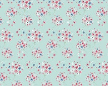 IN STOCK - Paperie - Amy Sinibaldi - Eponine - Art Gallery Fabric - Floral fabric - Blue fabric - PPE-348