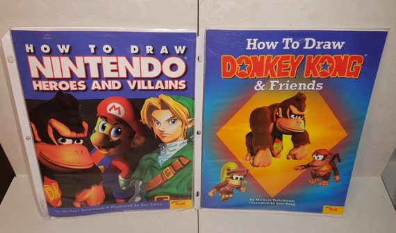 how to draw book nintendo