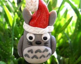 Totoro Christmas Ornament - Christmas Tree Ornament - Totoro Miniature Figurines