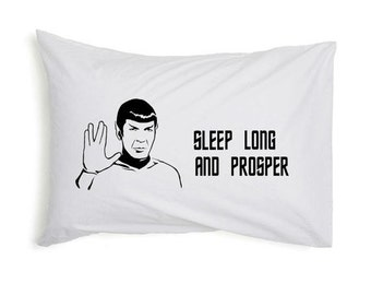 Star Trek Spock Pillow Case