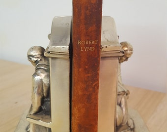 Vintage - Leather - An Anthology of Modern Poetry - Robert Lynd -1945