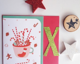 Sale * * Greeting Gingerbread/omino gingerbread