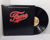Fame Soundtrack vinyl record 80s Movie Irene Cara Disco EX/NM
