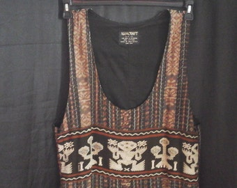 Bali ikat dress vintage