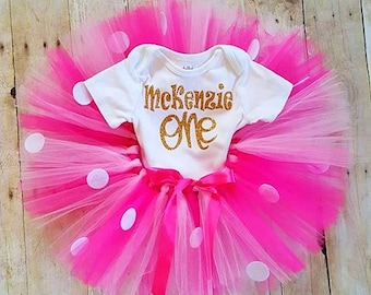 1st Birthday outfit/girls first birthday outfit/baby girl clothes/personalized birthday clothes/girls 1st Birthday/smashcake/girl clothes