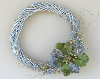Gold and Silver Wreath