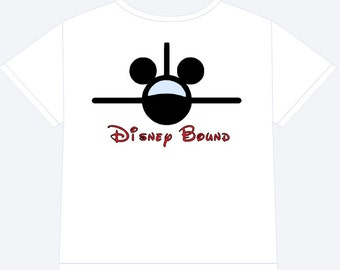 Disney Bound Airplane Shirt