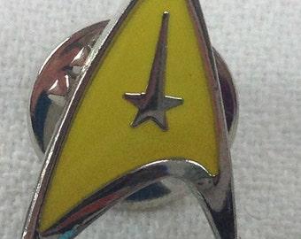Star Trek Yellow Pin