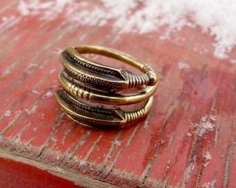 "Ring ""World snake"". Scandinavia, Roman Iron Age, the III-IV centuries"