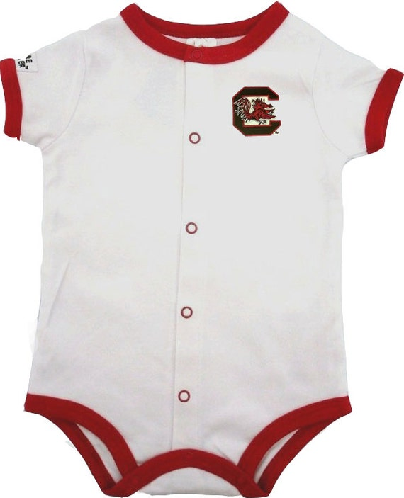 South Carolina Gamecock Baby Bodysuit Romper