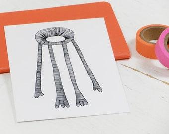 Postcard BUDDY FOR YOU – Illustration