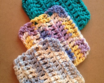 Mini washcloth; makeup remover; bath products; facial cleaner; face scrubbie; Ready to Ship