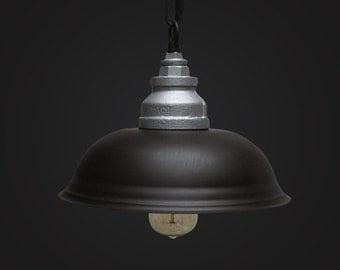 Steel Ceiling Lamp - pendant lamp - edison bulb - vintage style - industrial style - DIY lighting - hanging lamp  - ceiling lamp - lighting