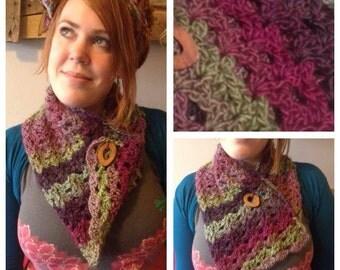 Hand Crocheted Cowl