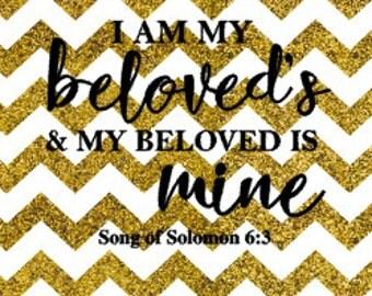 Beloved Is Mine SVG