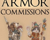 Your Pet in Armor Commissions