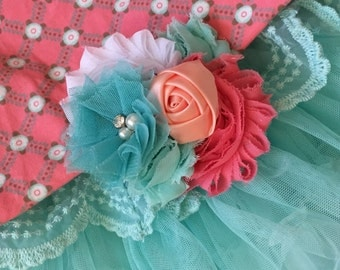 Spring Fling head band or clip