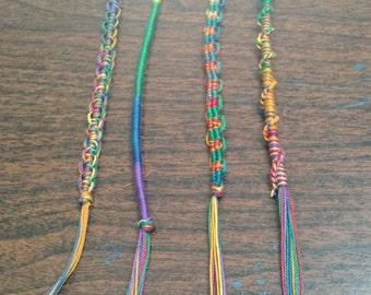 Rainbow handmade bracelet