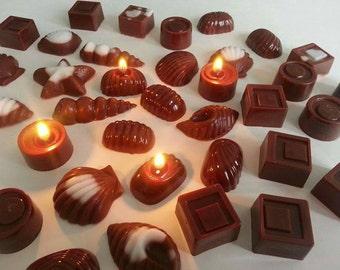 Chocolate mini Candle (12pc)