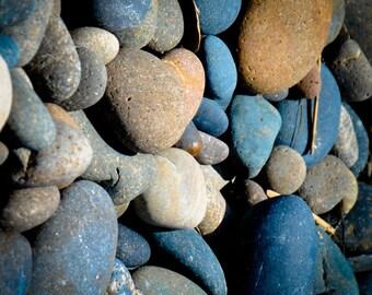 Heart Rock Beach Photo on Metal Photography