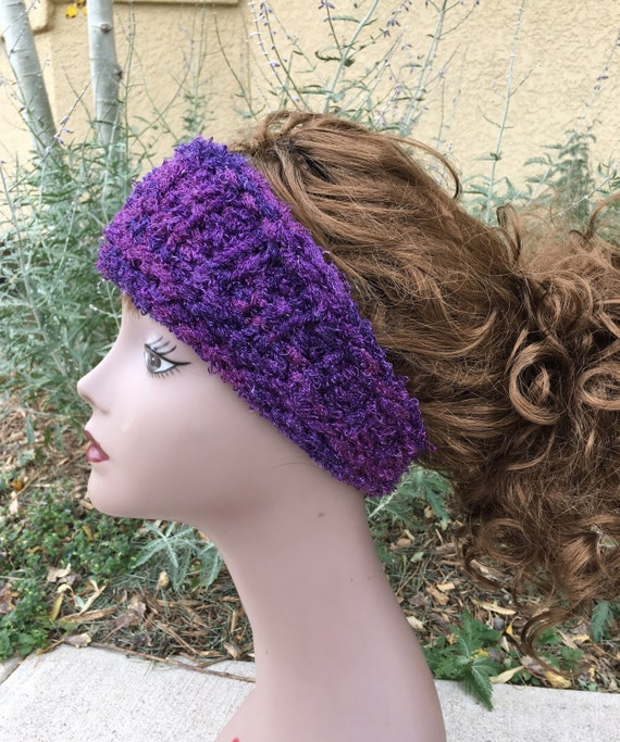Sashay Headband - a loom knit pattern