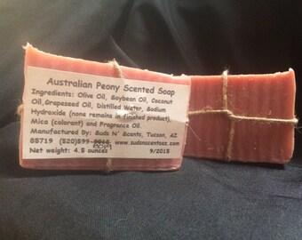 Australian Peony Scented Soap