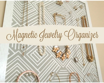 Magnetic Jewelry Organizer / Jewelry Board / Magnetic Board / Jewelry Storage