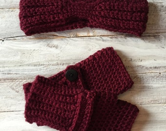 Fingerless gloves, crochet arm warmers, brown gloves, women's gloves, crochet fingerless gloves, crochet mittens, womens gloves, crochet