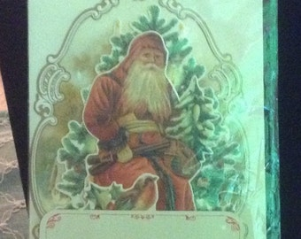 Reproduction Victorian Christmas Card