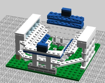 Penn St Beaver Stadium Brick Model - Desktop Size with Free Shipping