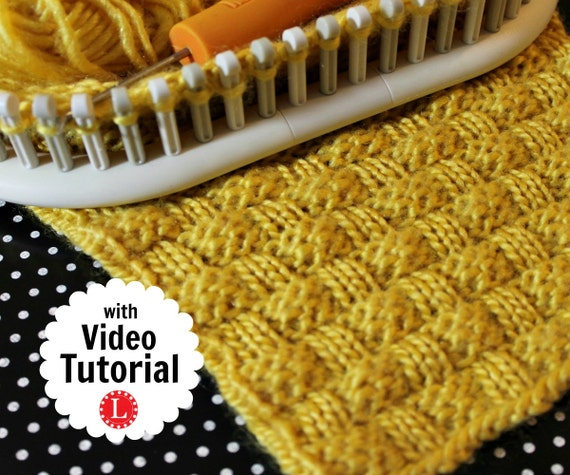 Carving A Basket Weave Pattern On A Gunstock : Loom knitting stitch patterns the basket weave with
