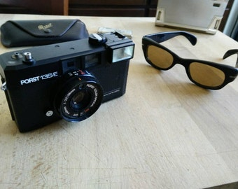 Porst 135 E made in japan, 70s Historic and luxurious compact camera