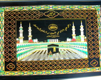 Allah Names Decoration Of 99 Names Of Allah Etsy