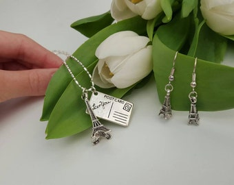 Paris Necklace and Earrings