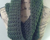 Kenzie Camo full and warm chunky cowl.  Lovin' the big cuddle from this scarf!