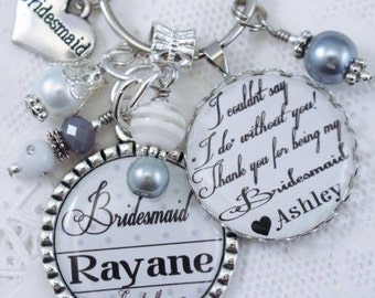 ON SALE PERSONALIZED Bridesmaid Gift, Gift for Bridesmaid, Maid of Honor Gift, Bridesmaids Gift, Gift for Bridesmaids, Personalized Gift, We