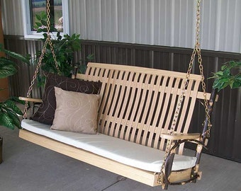 Hickory 5 ft. Porch Swing