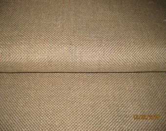 1/2 yd. Unbleached LINEN Rug FOUNDATION FABRIC / Backing for Rug Hooking